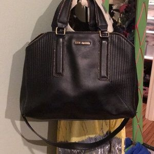 Authentic Steve Madden Leather Bag w/long handle
